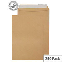 Purely Everyday Pocket P&S Manilla 115gsm C4 324x229mm (Pack 250)