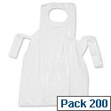Disposable Apron Roll Polythene [Pack of 200]