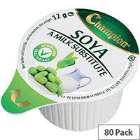 Champion Soya Milk Jiggers 12g (Pack 80)