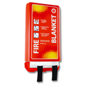 IVG Fire Blanket 1m x1m (3.3x3.3ft) Woven Fibreglass Guardian Pack of 1
