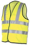 Dealer Workwear XL High Visibility Vest Polyester Extra Large Yellow DWHVYL