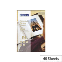 Epson Premium Glossy Photo Paper 40 Sheets