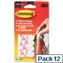 3M Poster Strips Holding Capacity 0.45kg Pack 12