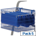 Suspension Files for MT2 MT3 File Trolleys Blue Pack 5 Versapak