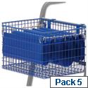 Suspension Files for MT2 MT3 File Trolleys Blue Pack 5 Versapak