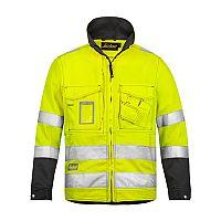 Snickers 1633 High-Vis Jacket Yellow Class 3 Size XS Regular
