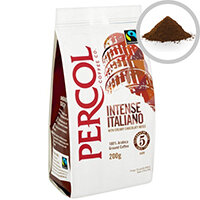 Percol Fairtrade Italiano Ground Coffee Organic Medium Roasted 227g Ref A07930