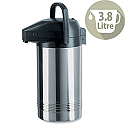 Emsa Pump Pot Vacuum Jug Stainless Steel 3.8L