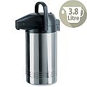 Emsa Pump Pot Vacuum Jug Stainless Steel 3.8L