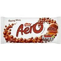 Aero Milk Chocolate Bar 120g Ref 12279266