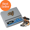 Salter Brecknell Coin Counter Electronic Checking Scale for all UK Coins