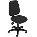 Permanent Contact High Back Office Operators Chair Charcoal Trexus Intro