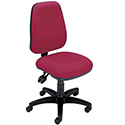 Permanent Contact High Back Office Operators Chair Claret Trexus Intro