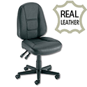 Leather HIGH BACK Permanent Contact Chair