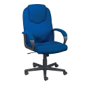 Trexus Intro Managers Office Armchair High Back Blue