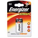 Energizer Ultra Plus 9V Battery Alkaline PP3