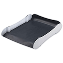 Avery Infinity Letter Tray White and Grey
