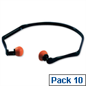 Ear Plugs Noise Reduction 26dB Pack 10 Pairs 3M