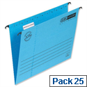 Elba Verticflex Blue Suspension File A4 240gsm L901000 Pack 25
