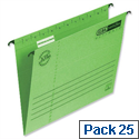 Elba Verticflex A4 Suspension File Green 240gsm L901010 Pack 25