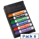 Sharpie Whiteboard Marker Set Eraser With Assorted Bullet Tip Markers Pk 6