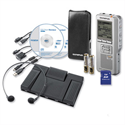 Olympus Starter Kit DS2500 and AS2400 USB 2GB PC 32Hrs Recording