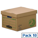 Fellowes Bankers Box Earth Series Large Archive Storage Box 4470709 Pack 10