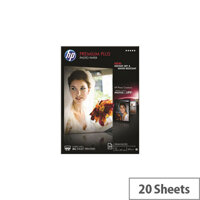 HP Premium Plus Photo Paper 20 Sheets