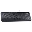 Microsoft 600 Wired USB Keyboard Black