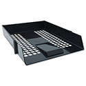 Avery Basics Black Letter Tray Stackable A4 Foolscap