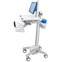 Ergotron SV41-6300-0 SV41 Cart LCD Stand Non Powered