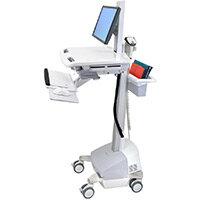 Ergotron StyleView EMR Cart With LCD Pivot SLA Powered