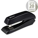 Rexel Gemini Stapler Half Strip Metallic Black
