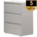 Bisley 3 Drawer Side Filing Cabinet Goose Grey SF3N