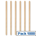 Drink Stirrers Wooden 5 inch Pack 1000