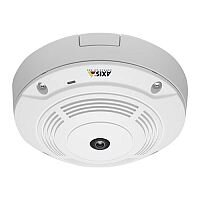 AXIS M3007-P Network Camera - Network Surveillance Camera - Fixed Dome - Colour - 5 MP - 2592 x 1944 - M12 mount - fixed iris - fixed focal - 10/100 - MPEG-4, MJPEG, H.264 - PoE Class 2
