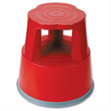 RelX Mobile Kick Step Stool Plastic Strong Top Red T7