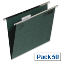 Elba Vertic A4 Suspension File Green E85921-14 Pack 50