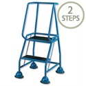 Steel Mobile Safety Steps