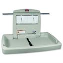 Rubbermaid Horizontal Baby Change Station Built-in Shelf Aluminium Hooks Liner Dispenser Ref 7818-88