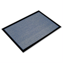 Indoor Entrance Mat Hard-wearing 800x1200mm Grey Doortex Valuemat