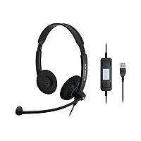 Sennheiser SC 60 USB CTRL Binaural UC Headset With Call Control
