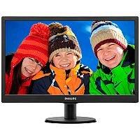 "Philips V-line 203V5LSB26 LED Computer Monitor 19.5"""