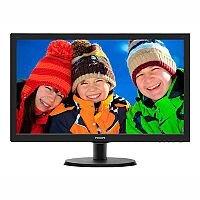 "Philips V-line 223V5LSB LED Computer Monitor 21.5"""