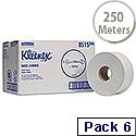 Kleenex Ultra Jumbo Dispenser Toilet Tissue 1250 Sheet Rolls Two Ply 8515 Pack 6