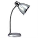 Retro Desk Lamp Fluorescent Flexible Arm Grey Unilux