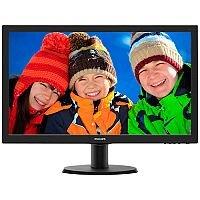 """Philips V-line 243V5LHAB LED Computer Monitor 23.6"""""""