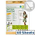 Earth-it Flipchart Easel Pad Self Stick 635x762mm FL1217507 Pack 2