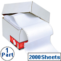 1 Part Listing Paper Ruled 241mm 60gsm 2000 Sheets 5 Star