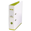 Elba MyColour Lever Arch File Polypropylene A4 White and Lime